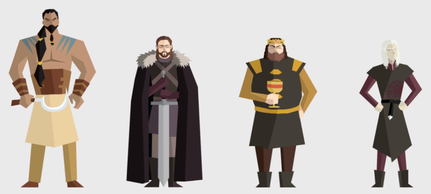 """Масштабная инфографика всех смертей в """"Игре престолов"""""""