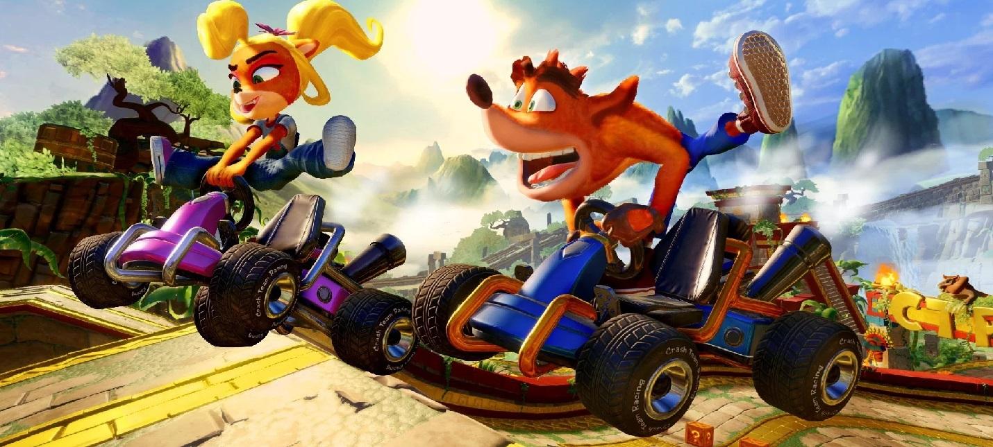 Кастомизация картов и гонки с боссами в новом геймплее Crash Team Racing Nitro-Fueled