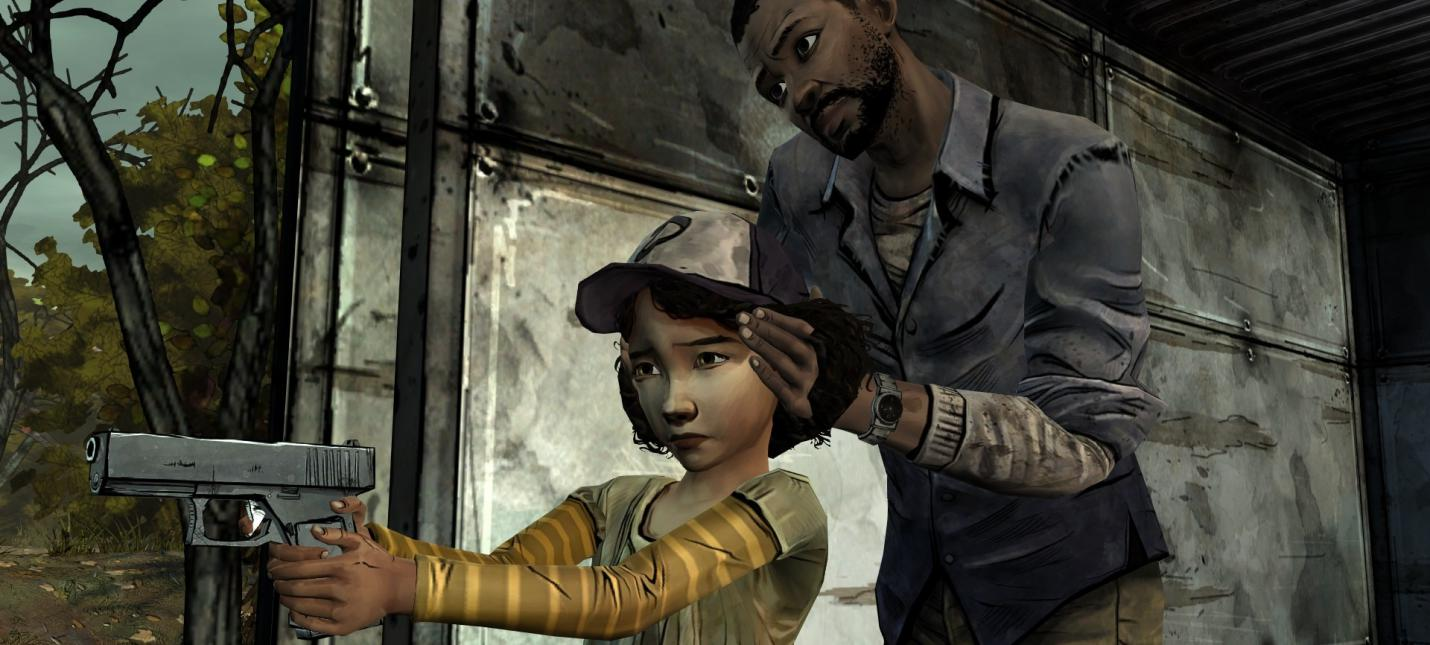 Первые скриншоты улучшенной версии The Walking Dead