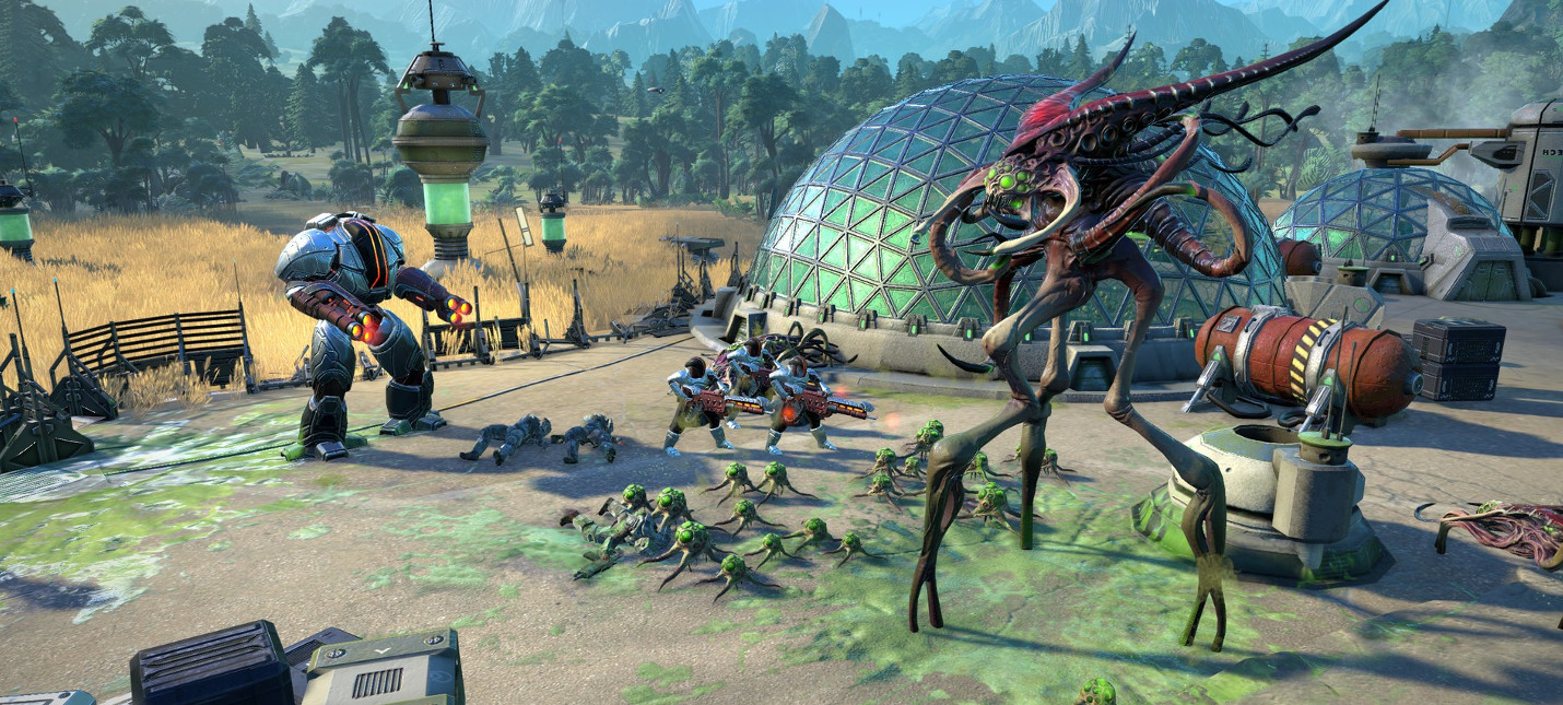 Час геймплея Age of Wonders: Planetfall с комментариями разработчиков