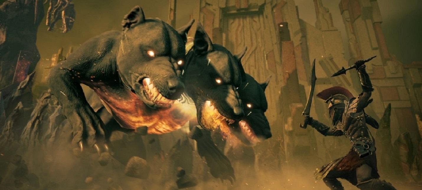Путешествие в подземный мир в геймплее второго эпизода Assassin's Creed Odyssey - The Fate of Atlantis