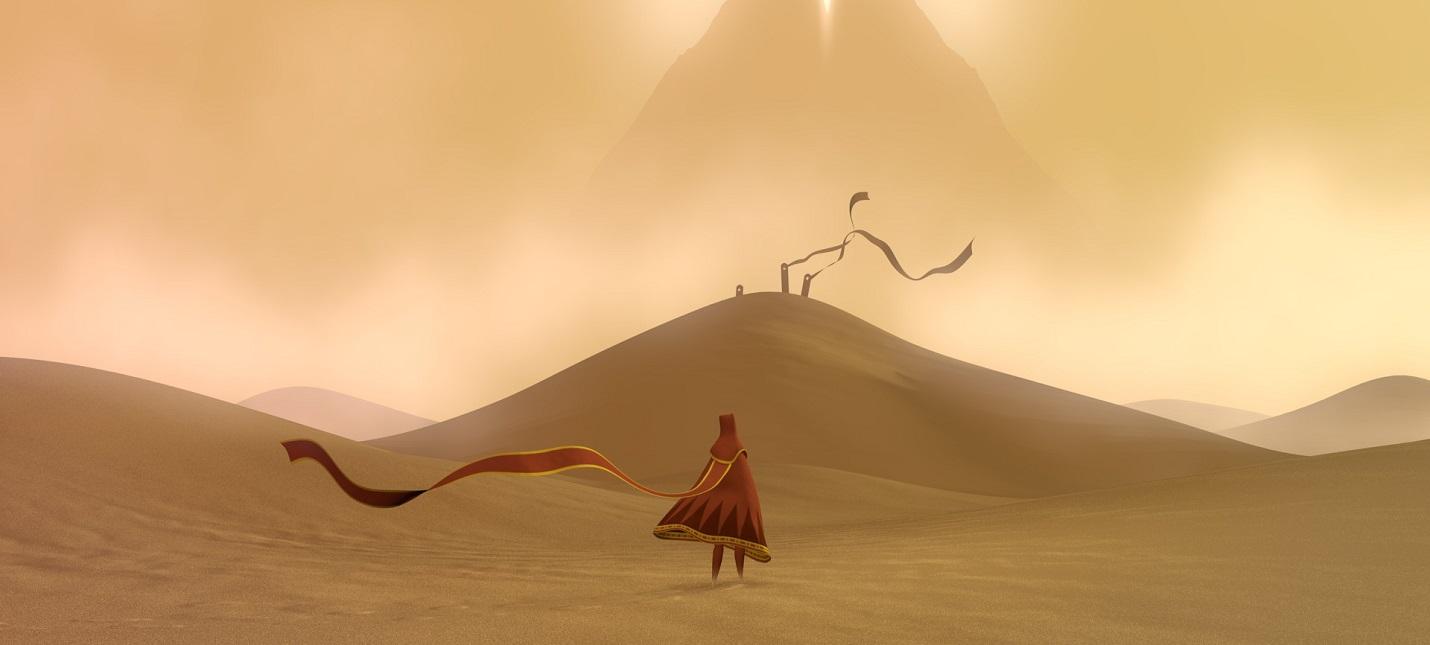 Красивая музыка в релизном трейлере PC-версии Journey