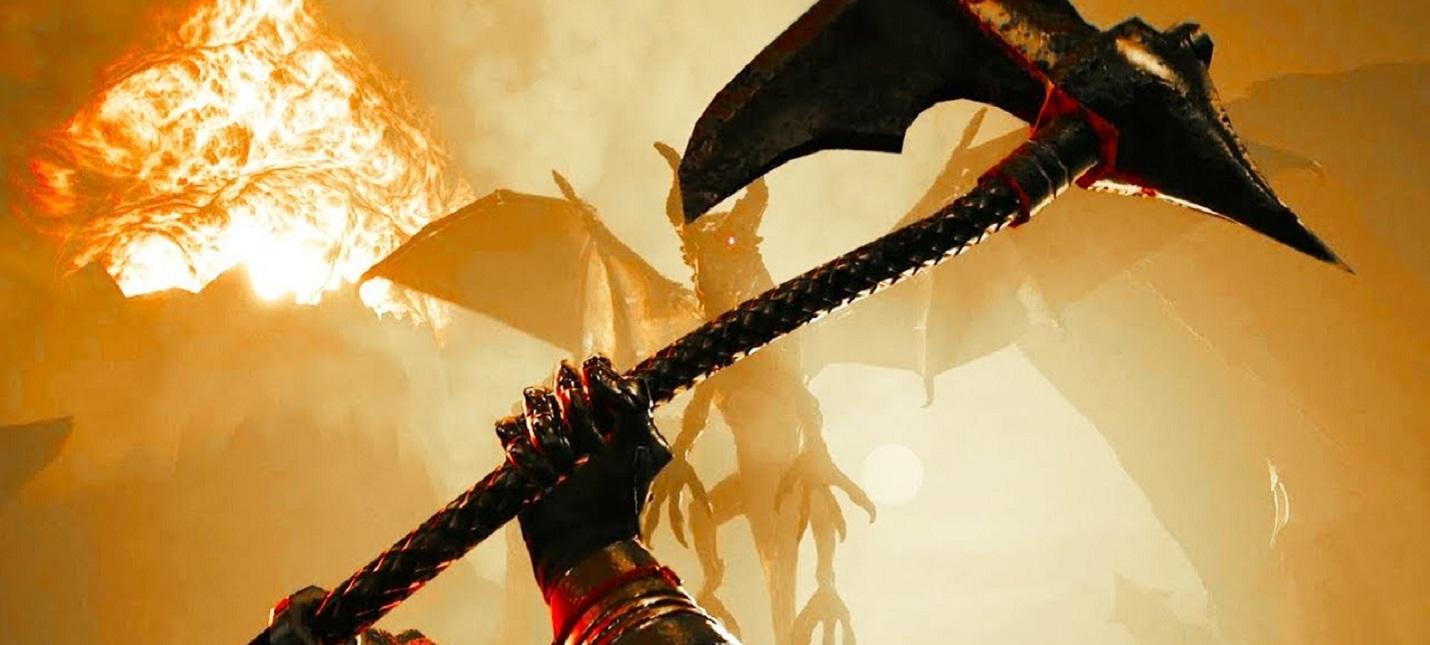 Мрачная атмосфера, демоны, сражения на мечах в трейлере Kings of Lorn: The Fall of Ebris