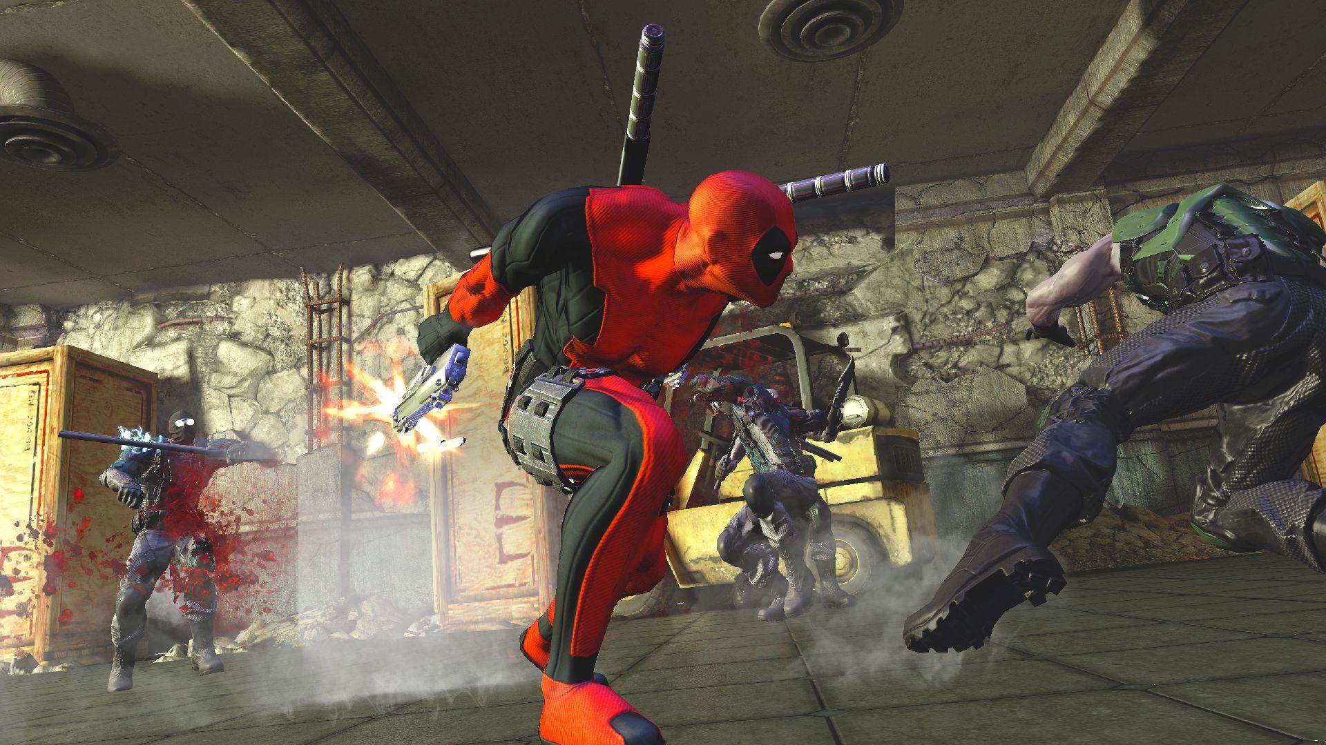 Play deadpool games online