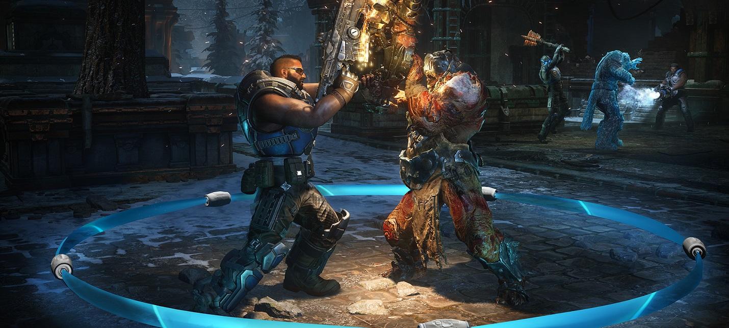 Разработчики Gears 5 показали кат-сцену с новым персонажем