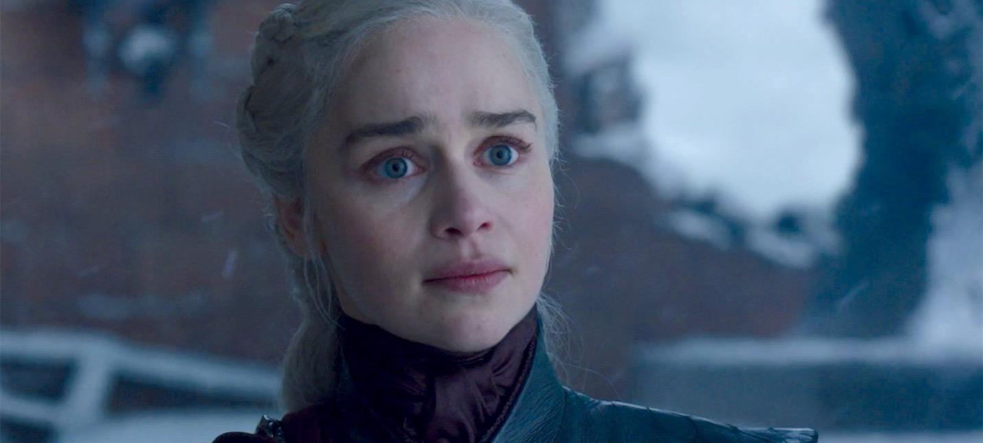 """HBO выдвинула шестой эпизод финального сезона """"Игры престолов"""" на премию """"Эмми"""""""