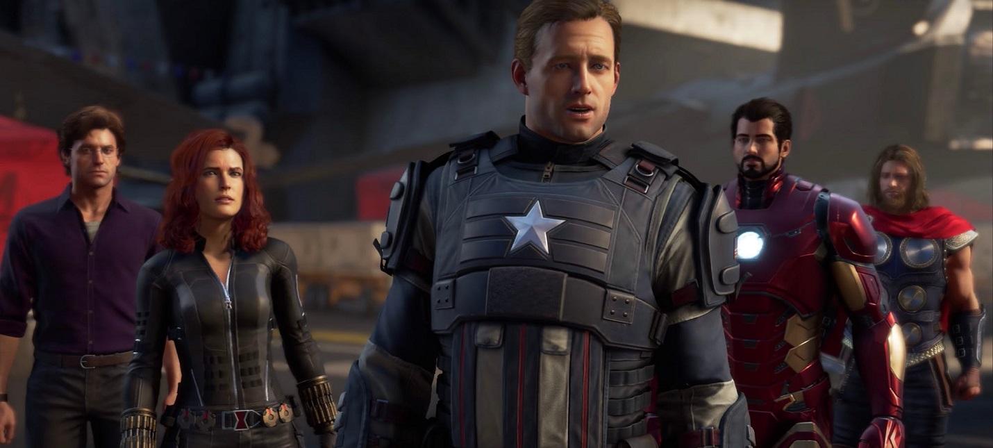 Square Enix: Состав Мстителей из игры случайно совпадает с составом из фильмов
