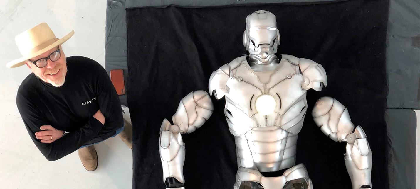 Адам Сэвидж собрал летающий костюм Железного человека