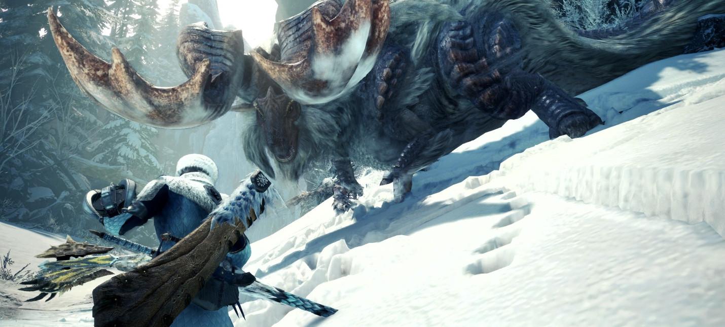 Информация о бете и обзорный трейлер Monster Hunter World: Iceborne