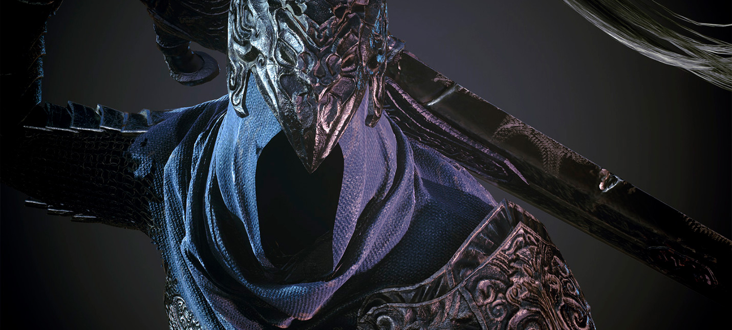 Точная копия бюста Арториаса из Dark Souls в натуральную величину