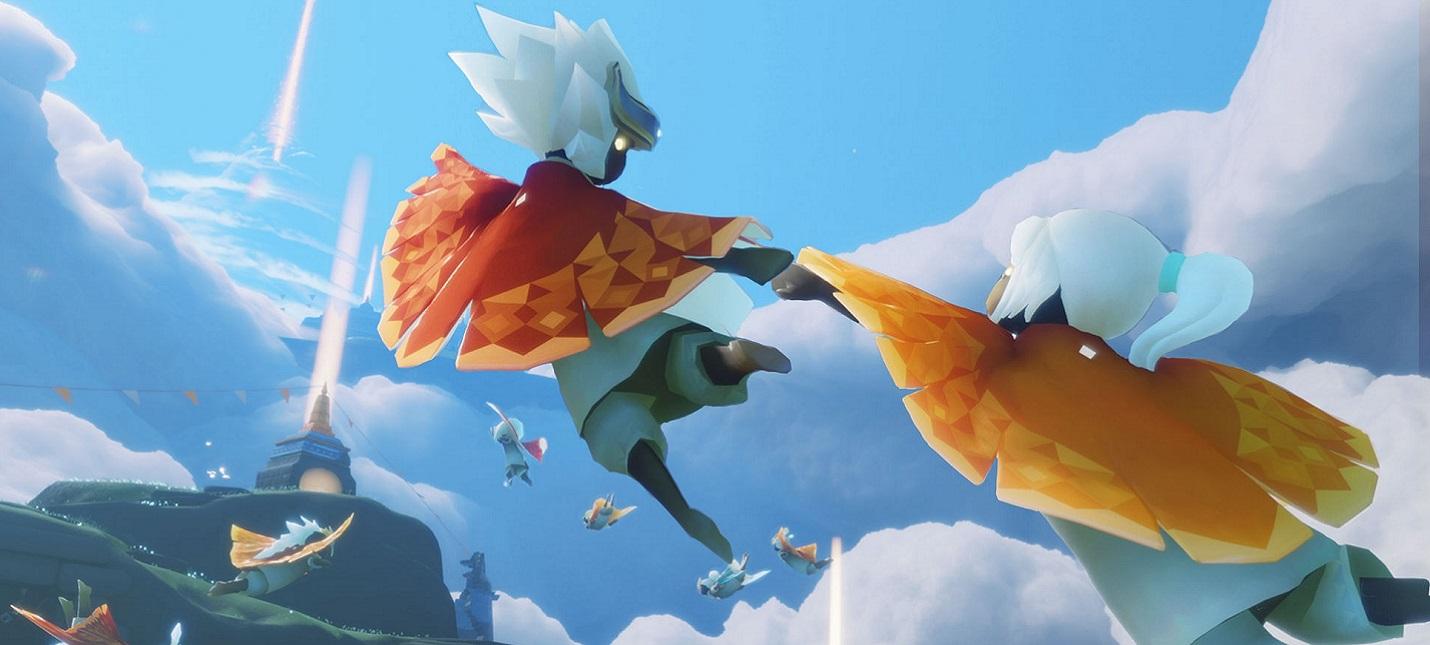 Геймплей инди-приключения Sky: Children of the Light от создателей Journey