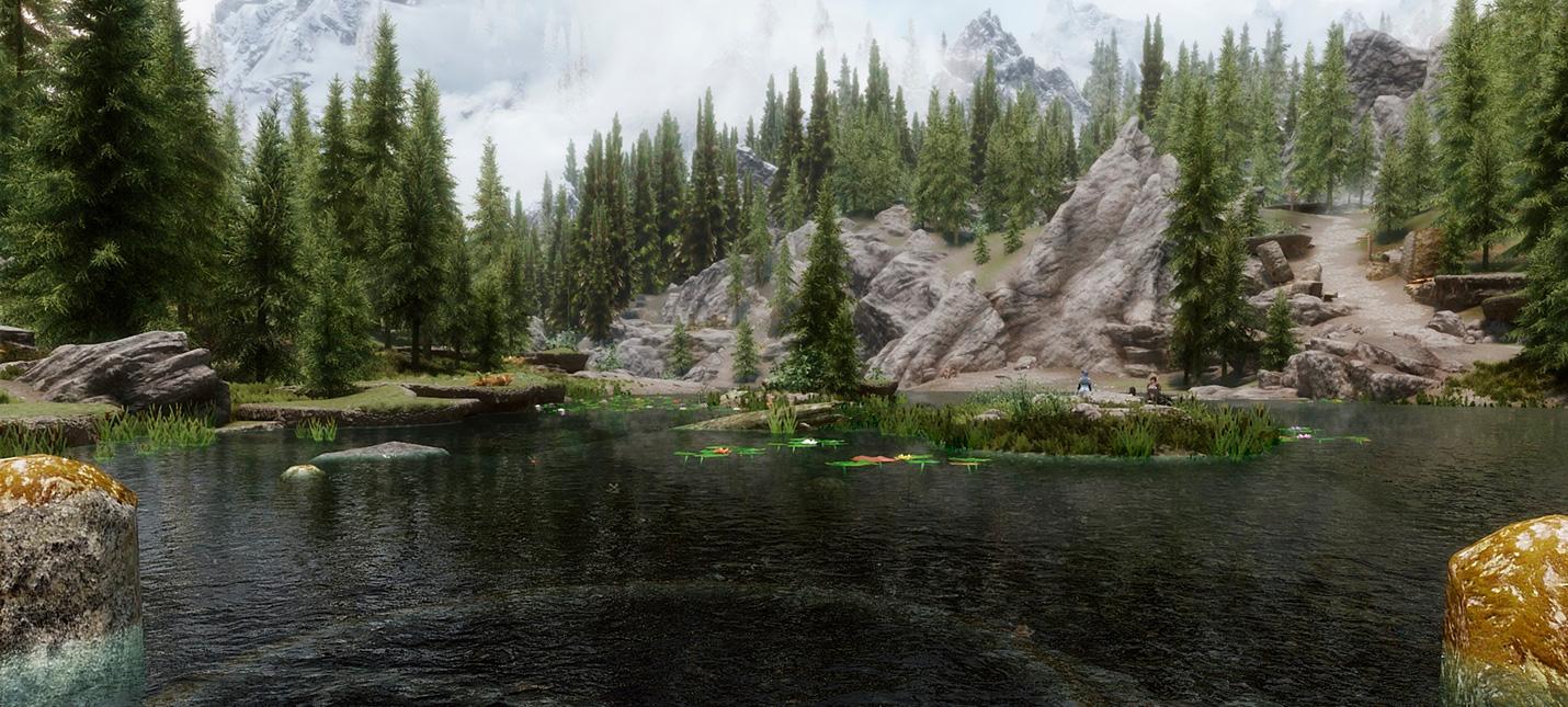 Мод для Skyrim добавляет реалистичное плавание и возможность утонуть