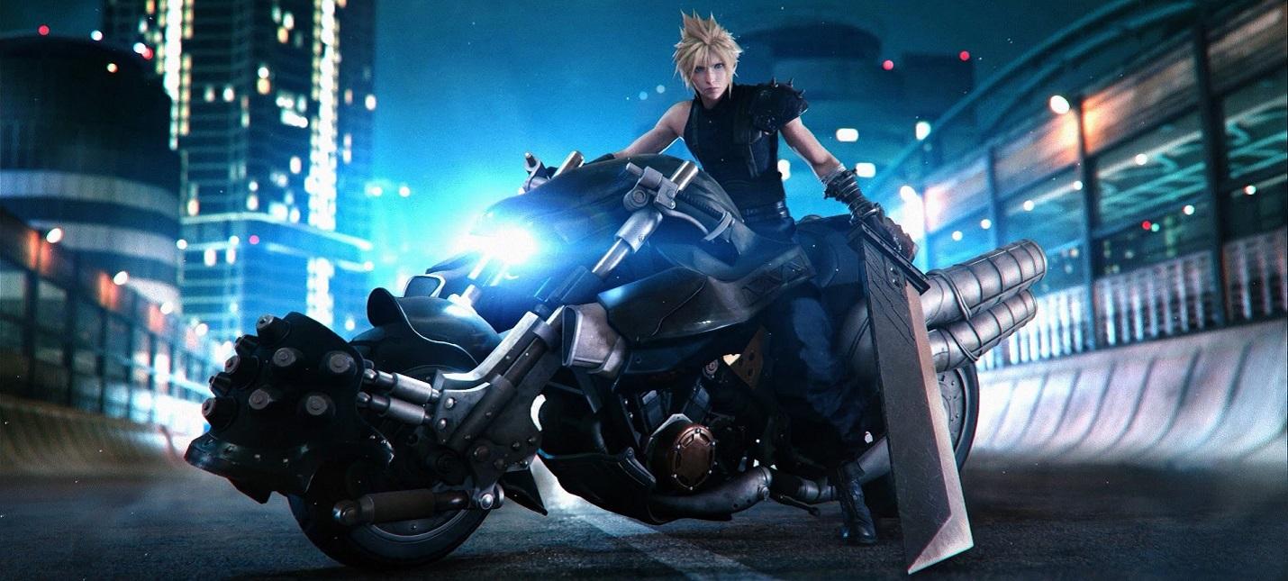 Трейлер фигурок Клауда и мотоцикла из коллекционного издания ремейка Final Fantasy VII