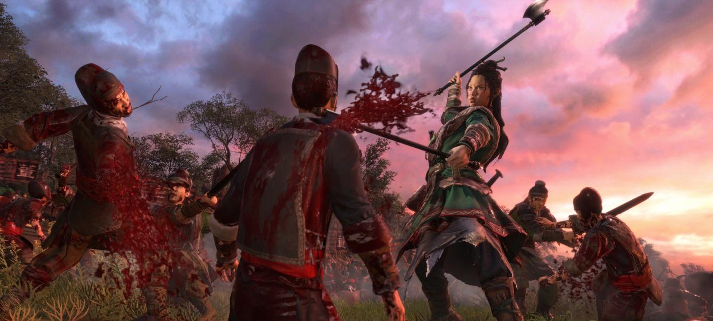 Для Total War: Three Kingdoms вышло кровавое дополнение