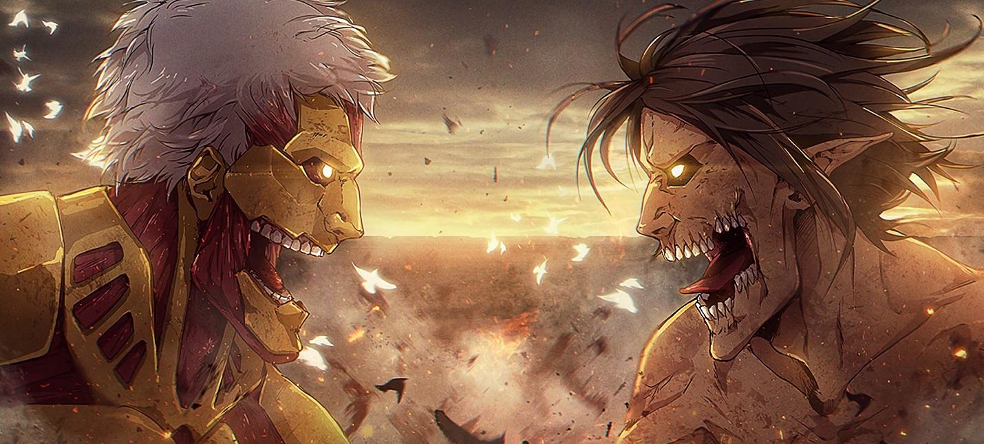 """Четвертый сезон станет последним для аниме """"Атака Титанов ..."""