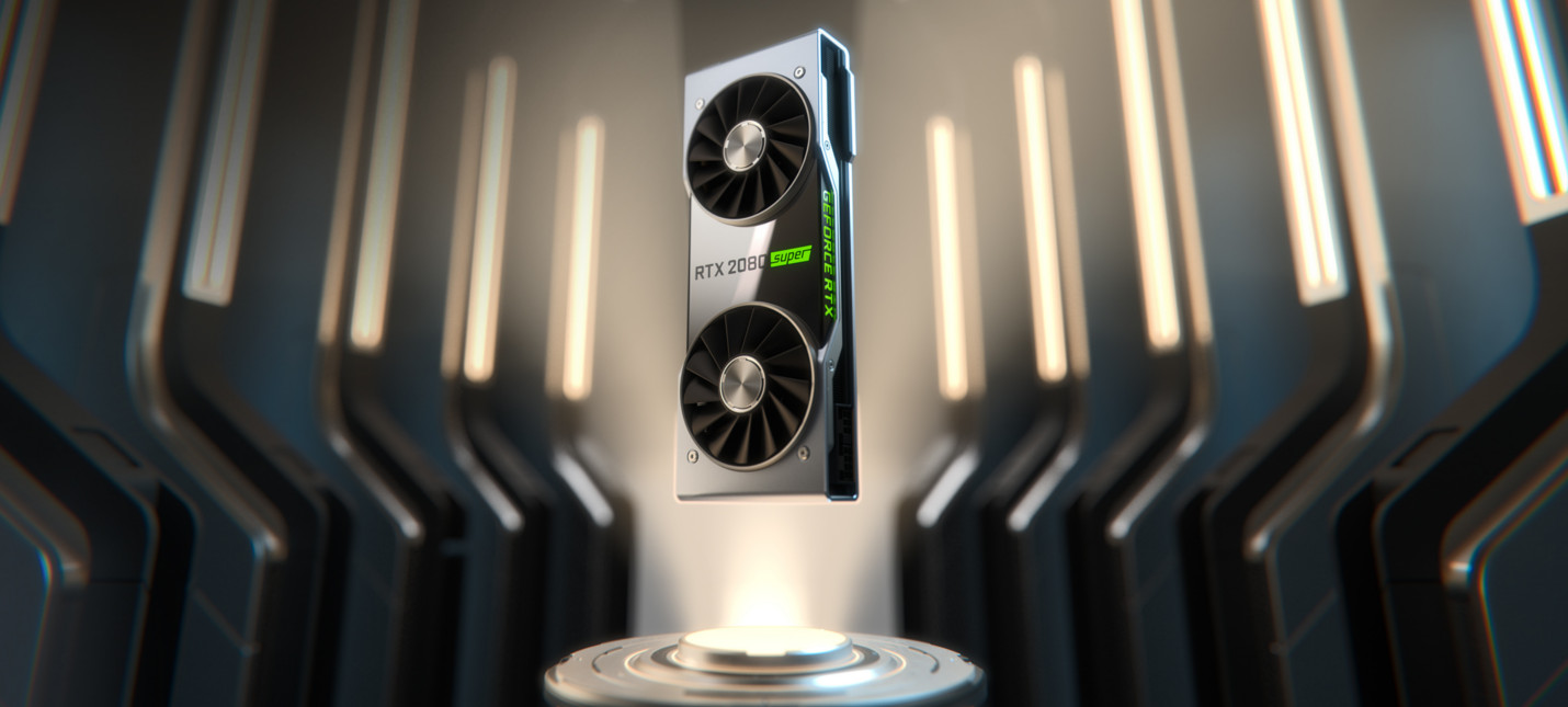 Nvidia представила серию видеокарт GeForce RTX Super