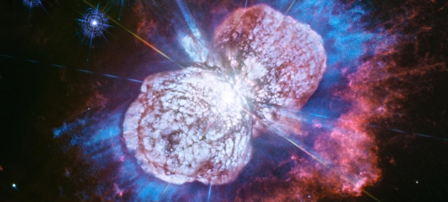 """Телескоп """"Хаббл"""" впервые показал космический взрыв"""