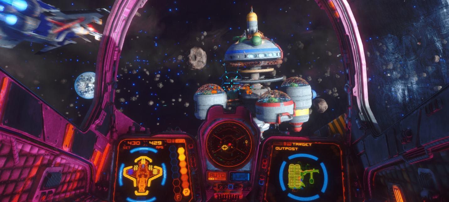 10 минут геймплея космического экшена Rebel Galaxy Outlaw