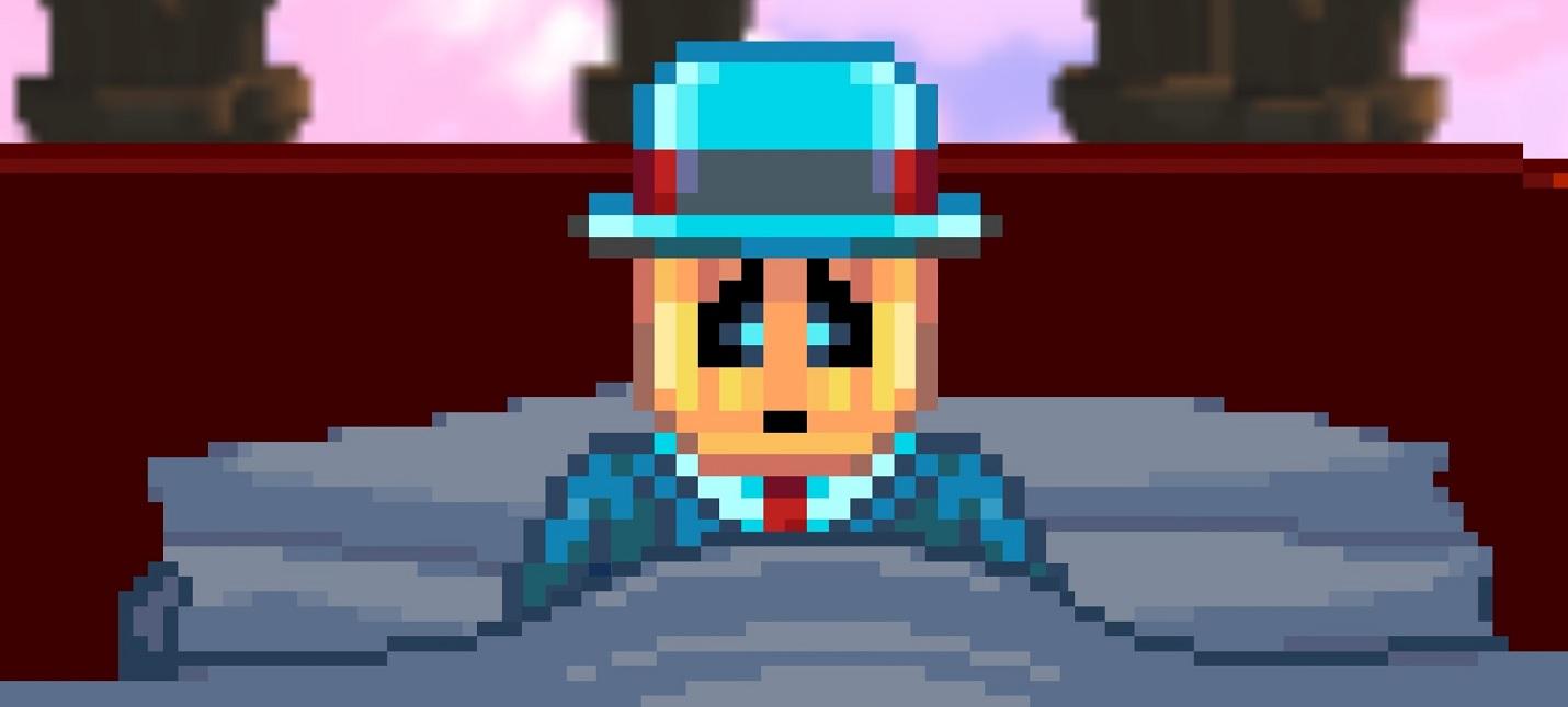 Странные приключения пиксельного робота в трейлере платформера Horace