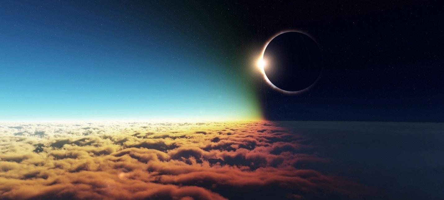 NASA опубликовало видео полного солнечного затмения для тех, кто пропустил