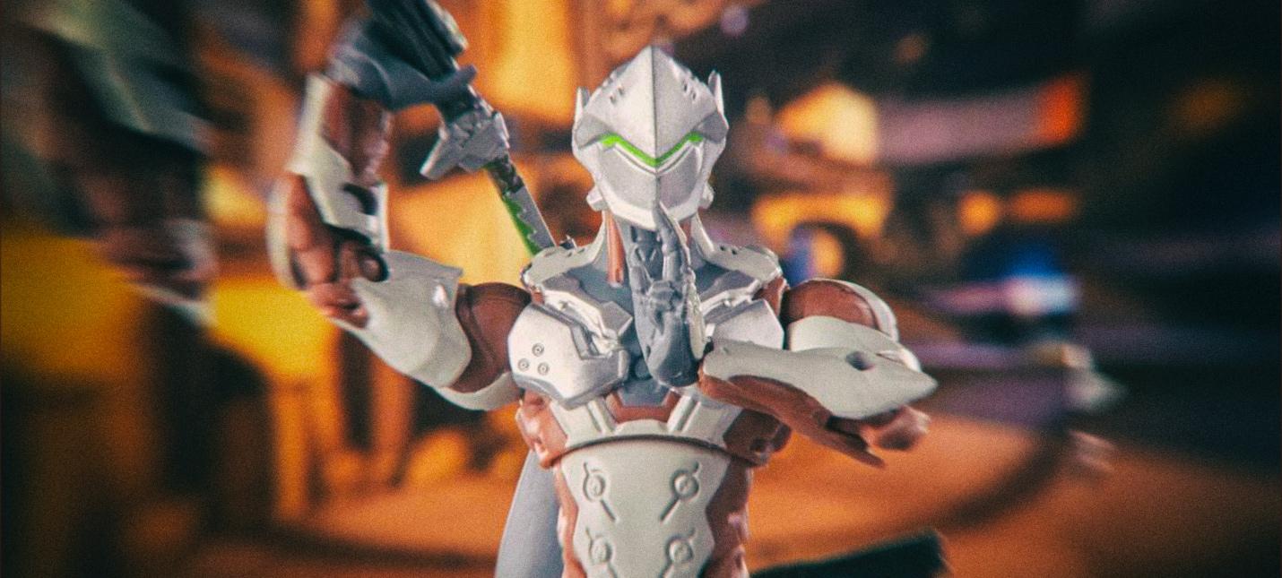 Hasbro показала новые экшен-фигурки героев Overwatch
