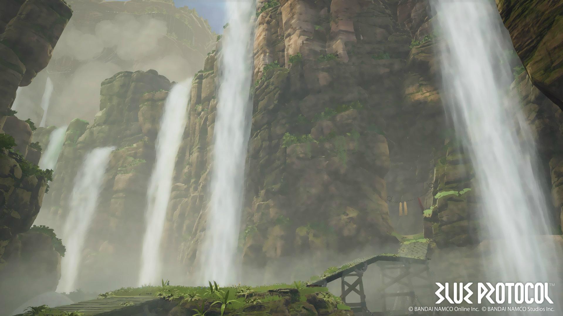 Дебютный трейлер MMORPG Blue Protocol от Bandai Namco