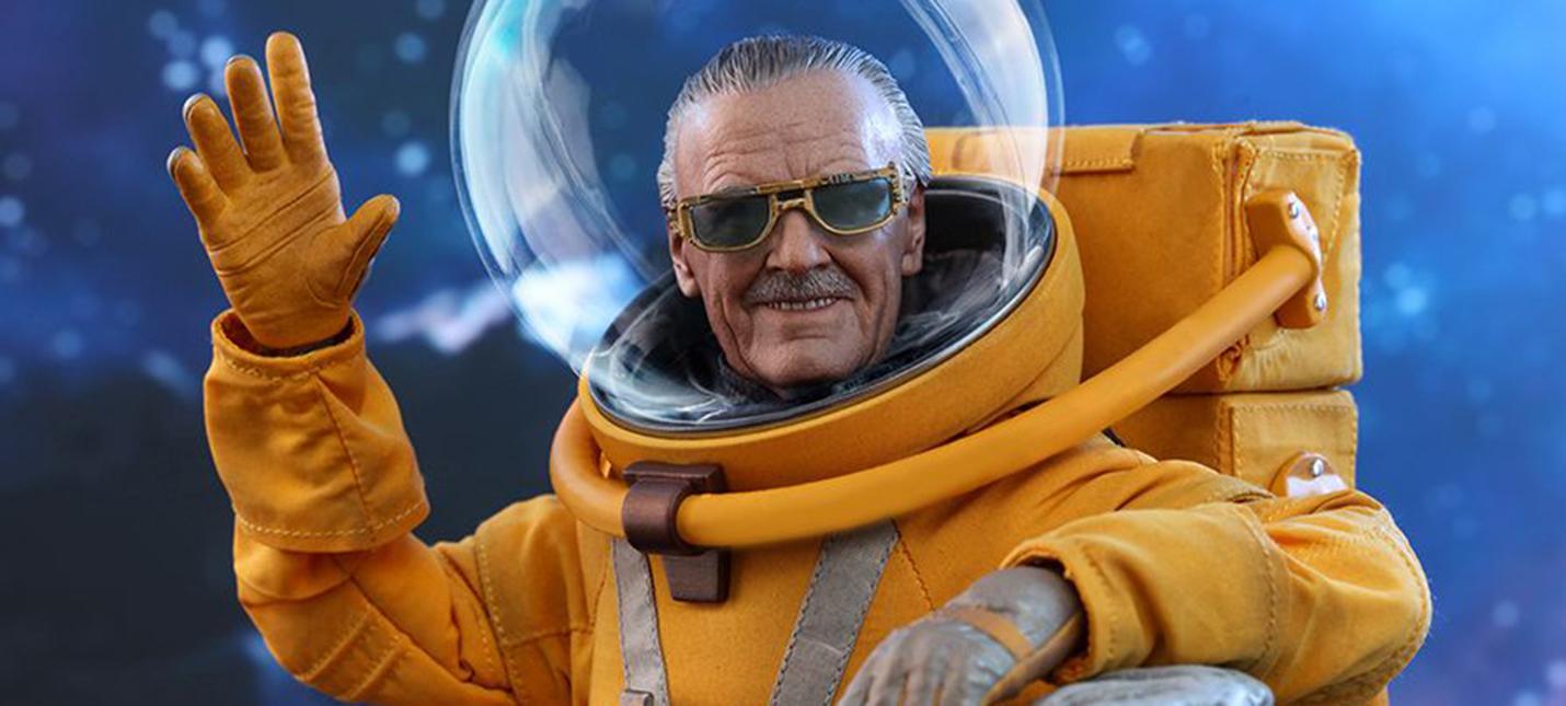 """Hot Toys представила фигурку Стэна Ли в скафандре из """"Стражей Галактики 2"""""""