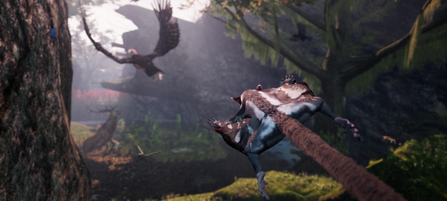 Станьте сахарной белкой-летягой в бесплатном демо Away: The Survival Series для PC