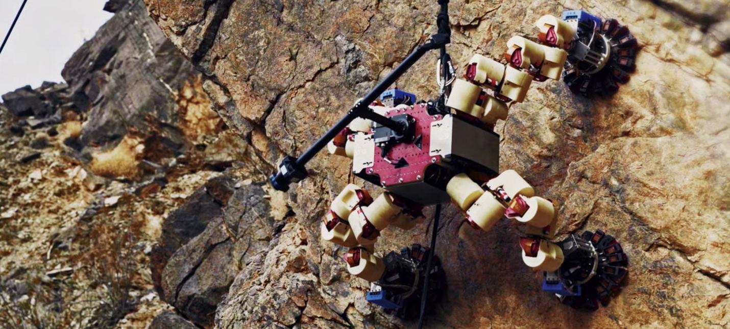 В своей последней миссии робот NASA LEMUR исследовал Долину Смерти