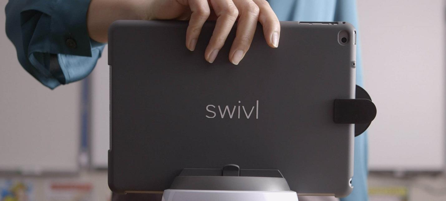 Маленький робот-оператор Swivl поможет записать видео