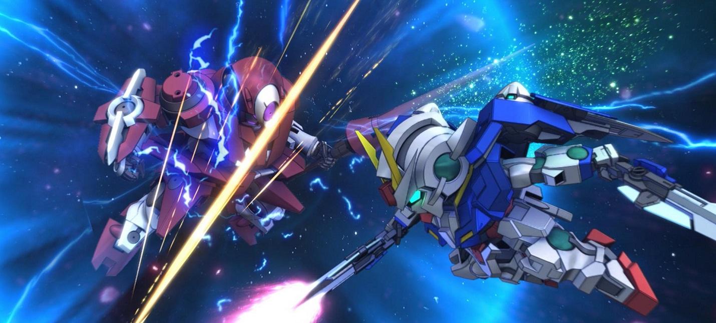 Сражения боевых роботов в геймплейном трейлере тактической RPG SD Gundam G Generation Cross Rays