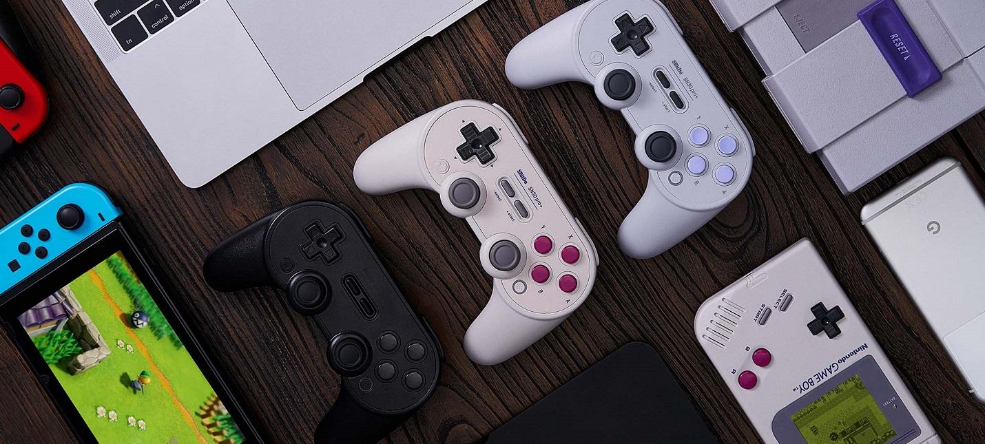 8Bitdo анонсировала новый настраиваемый контроллер для Switch