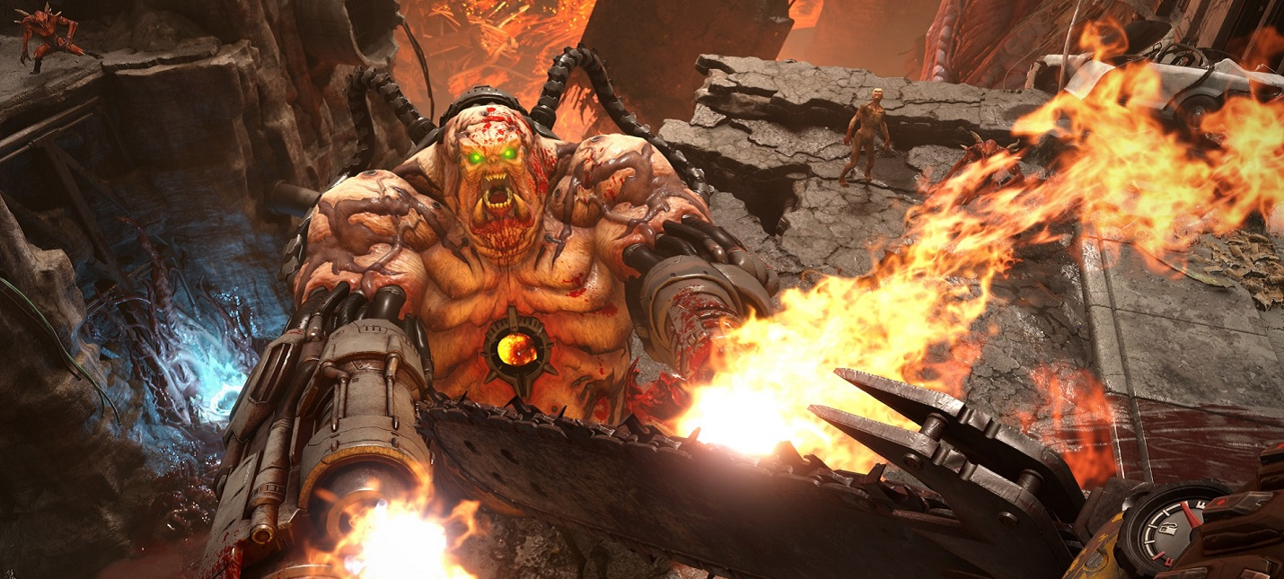 В Doom Eternal важно агрессивное управление ресурсами