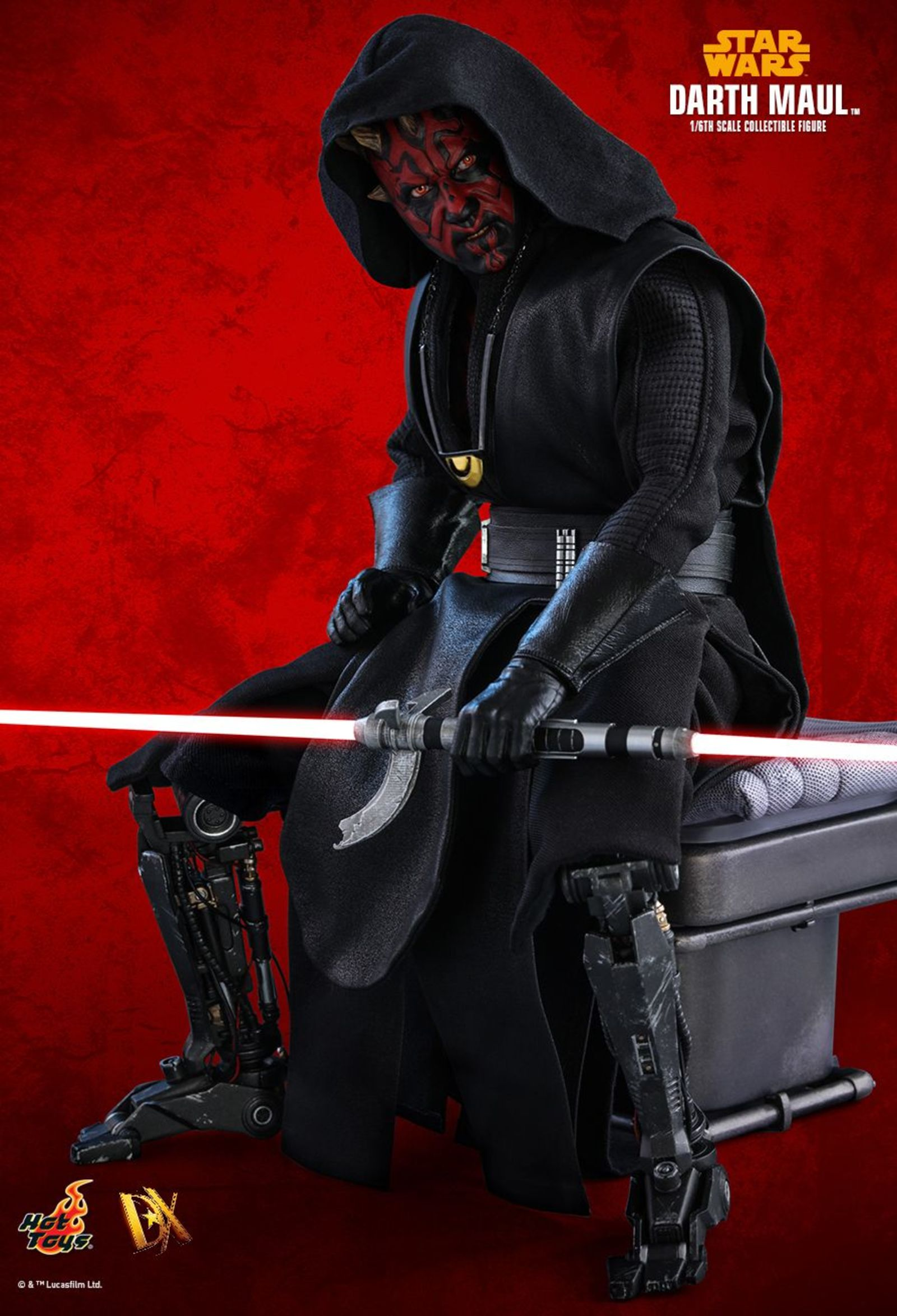 darth mauls robotic legs - HD 1600×2346