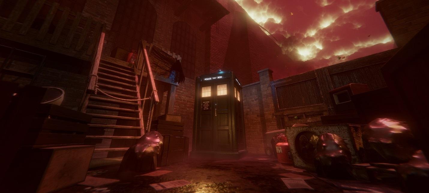 В свежем трейлере Doctor Who: The Edge Of Time представили Тардис