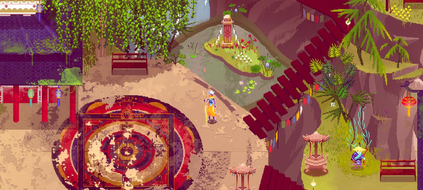 Atma — бесплатное пиксельное приключение об истории любви
