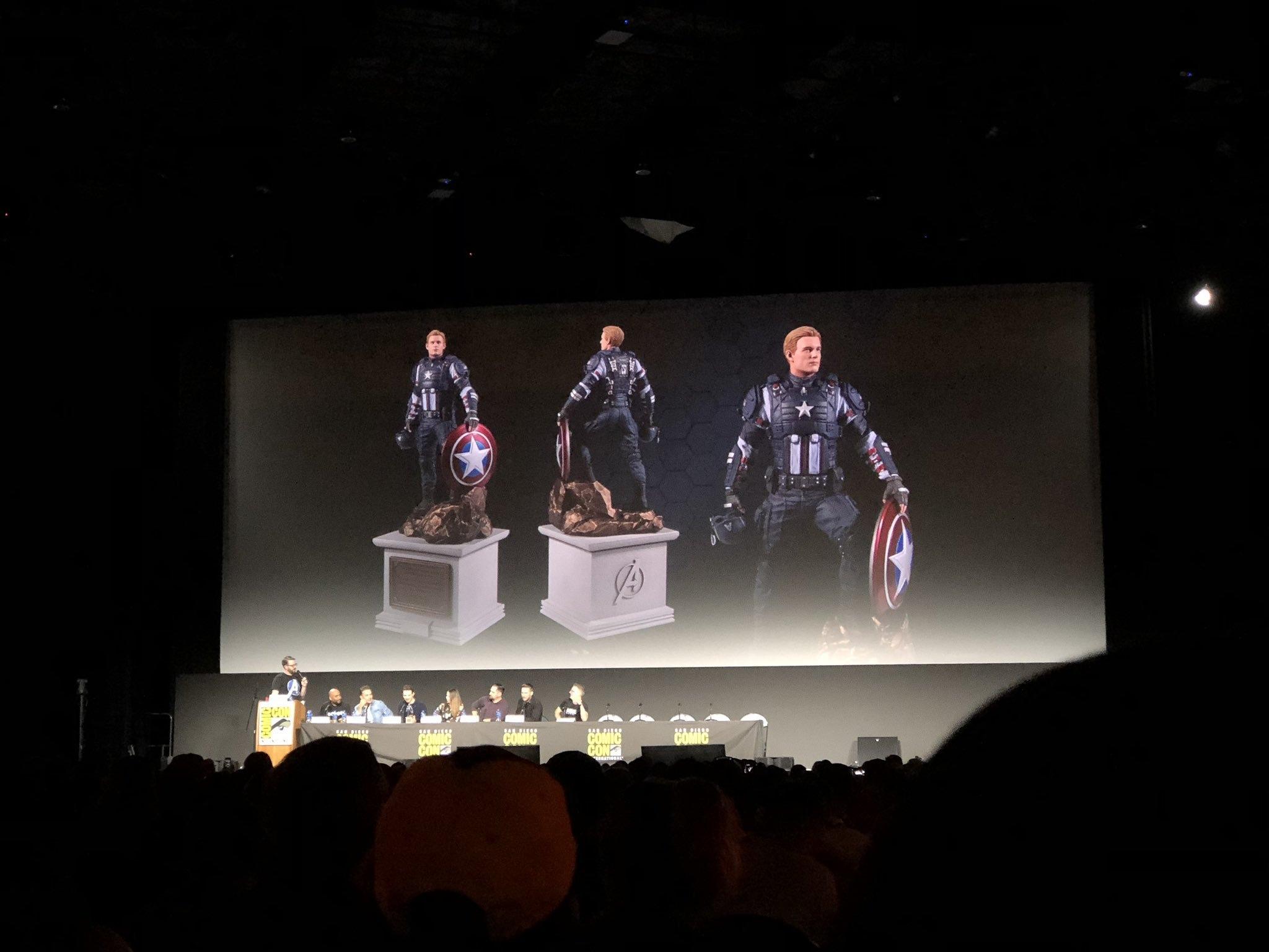 SDCC 2019: Подробности показа Marvel's Avengers