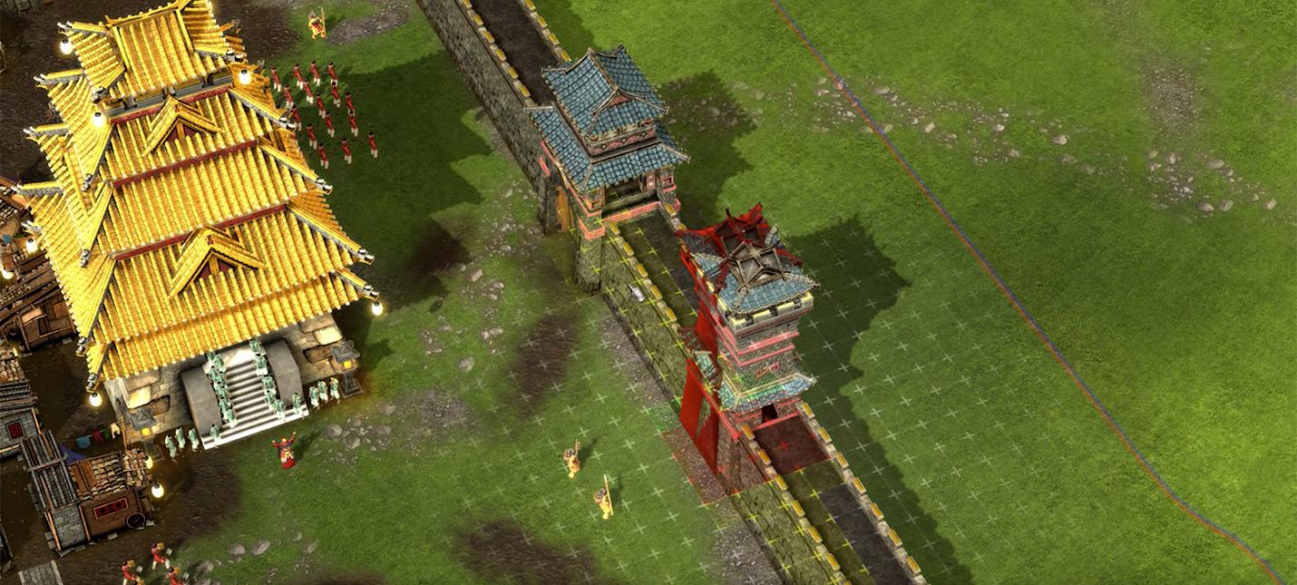 Stronghold: Warlords постарается решить проблемы серии со стенами и отрядами