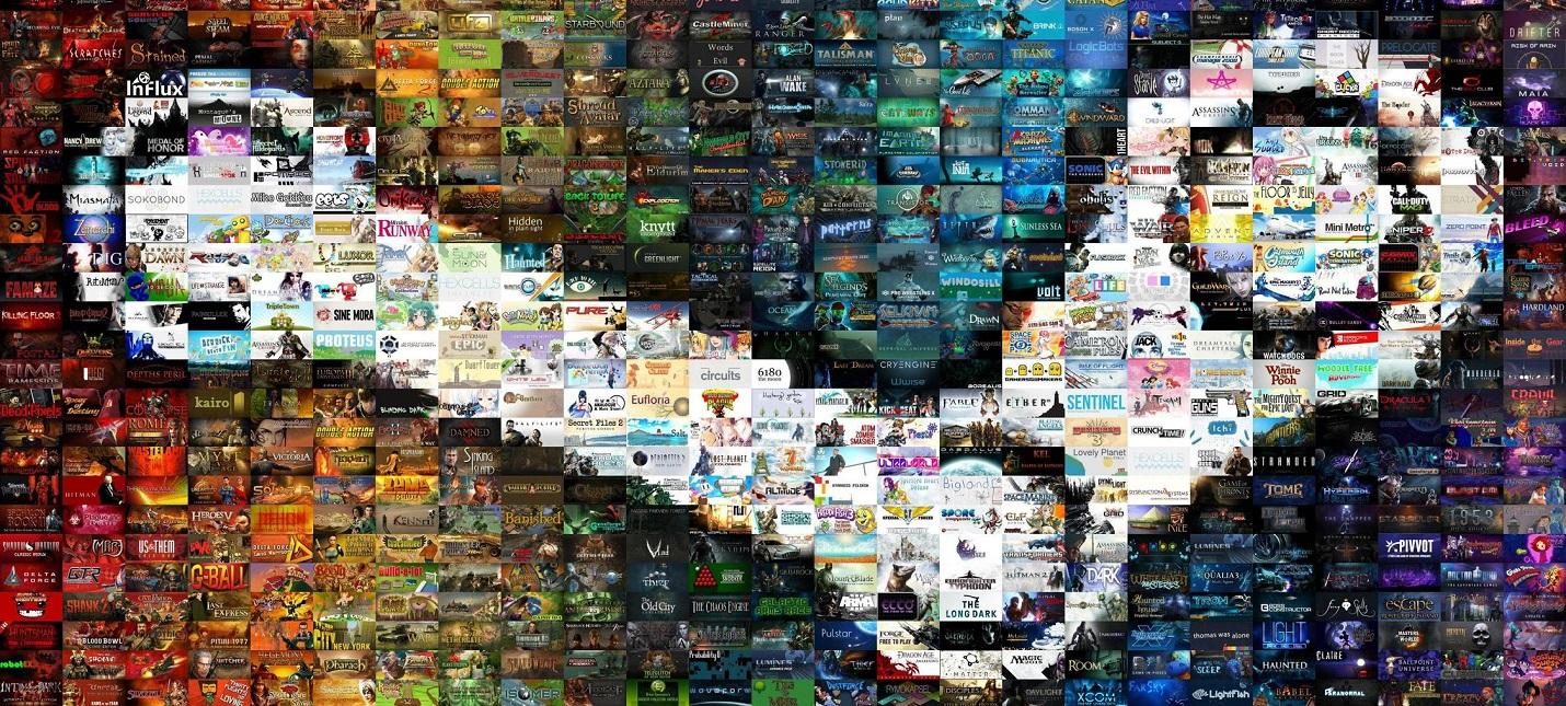 Как за 10 лет менялся топ игр Steam по количеству одновременных игроков