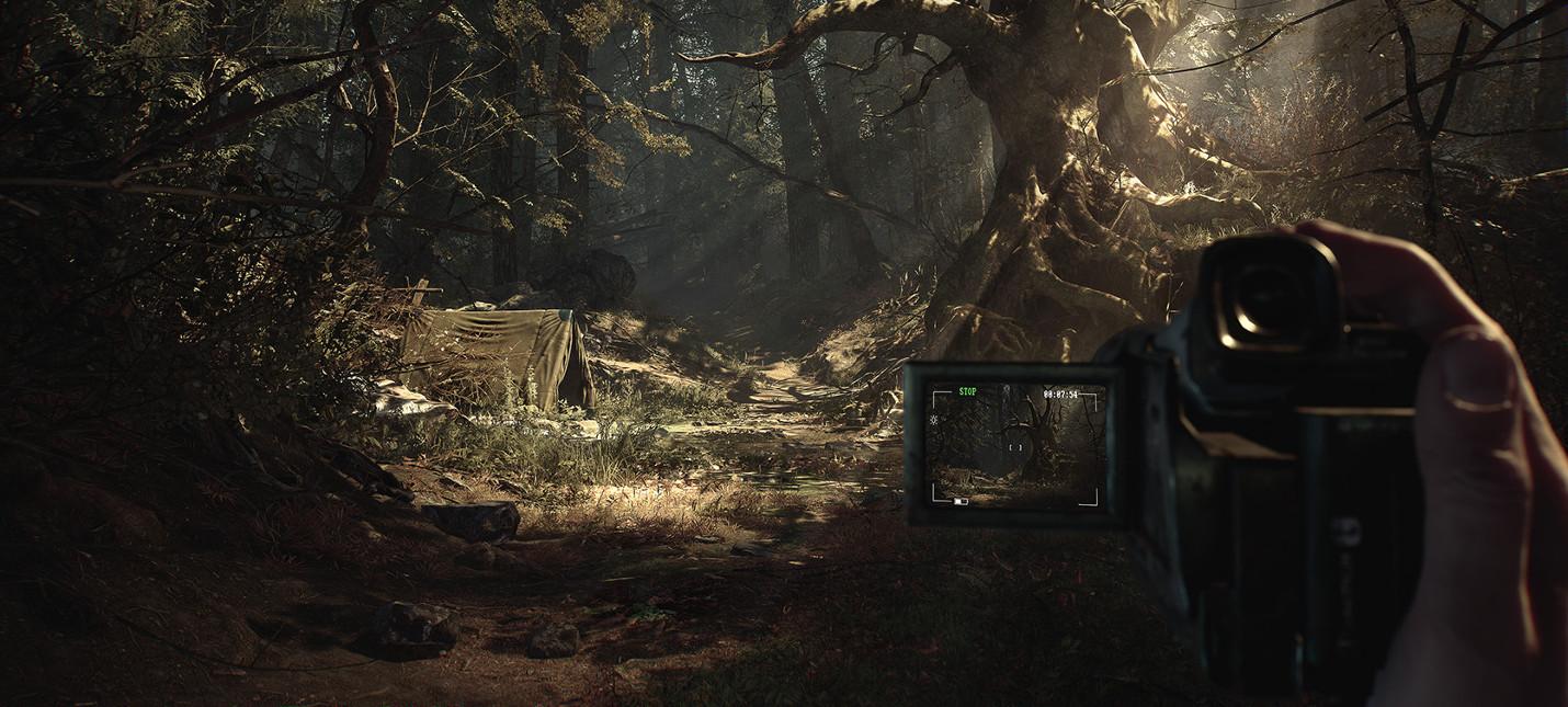 Мрачный лес с ведьмой — 11 минут геймплея Blair Witch