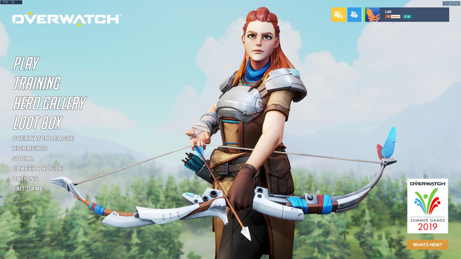 Если бы Элой из Horizon: Zero Dawn была героем Overwatch
