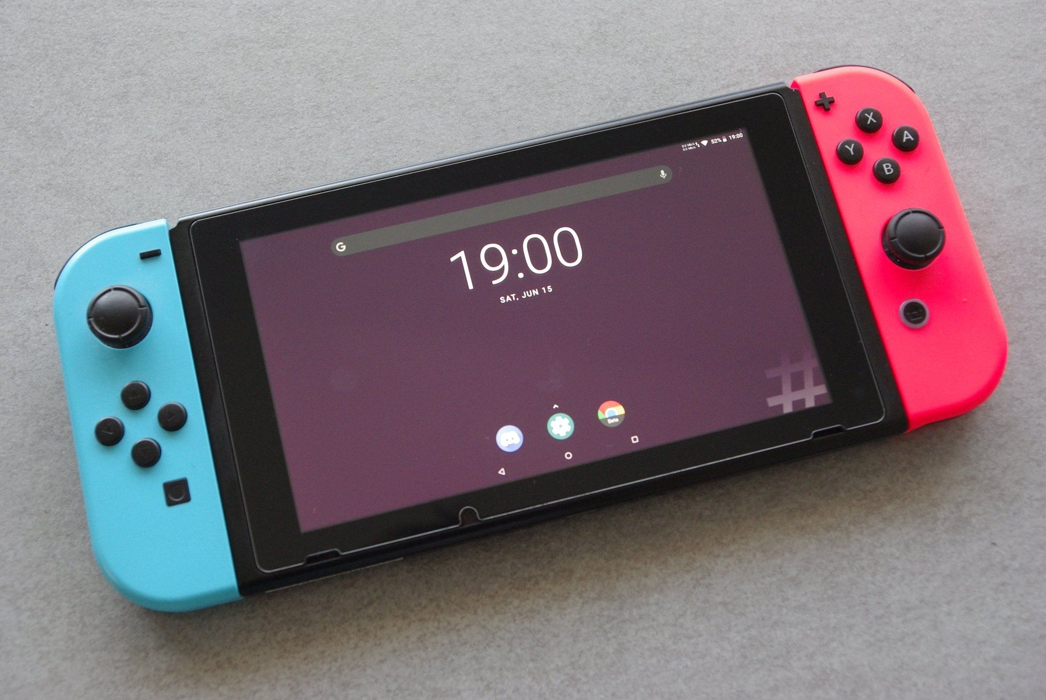 Систему Android теперь можно установить на Nintendo Switch