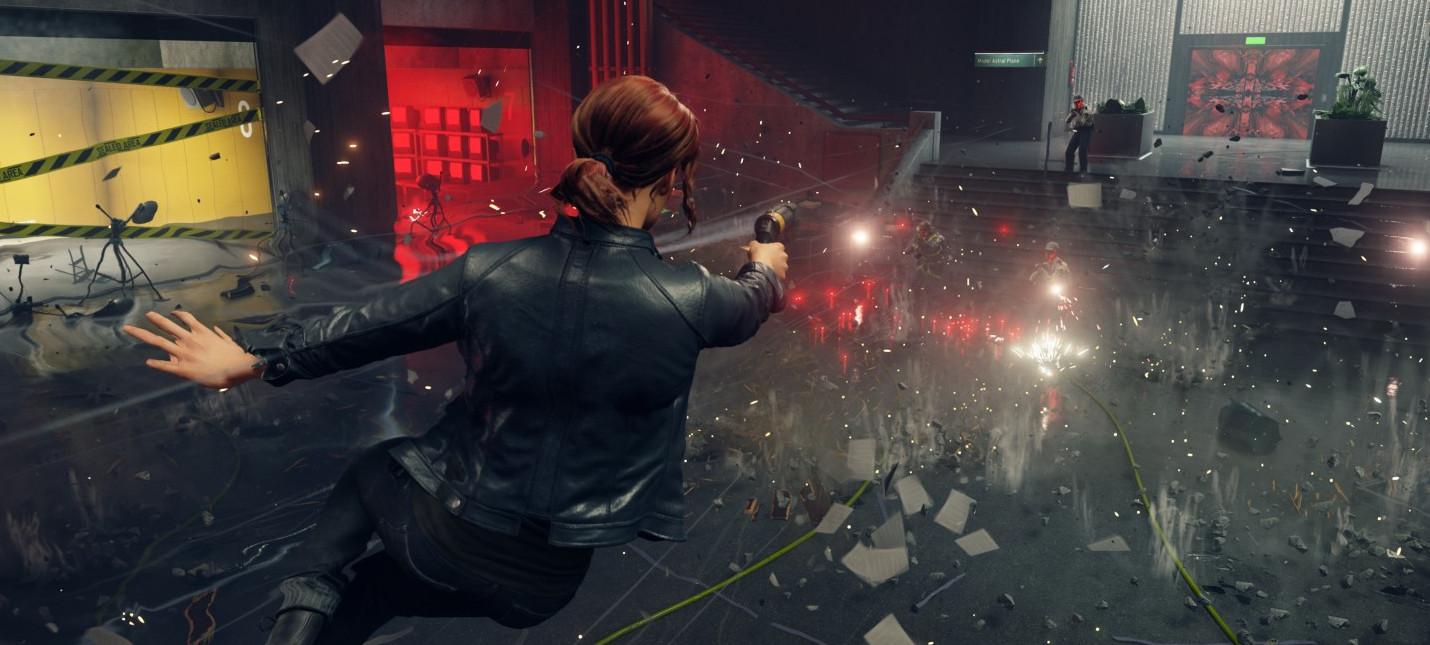 Новый отрывок геймплея Control с прохождением сюжетной миссии