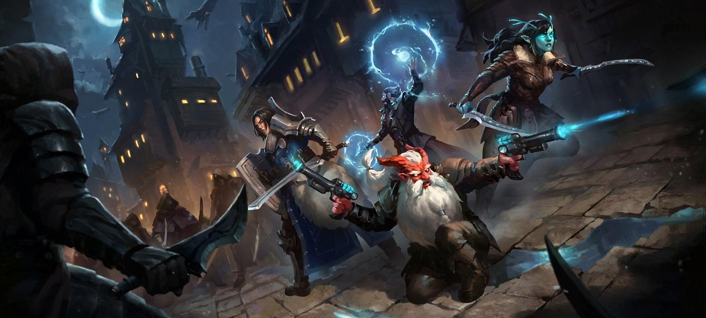 Живой фэнтезийный мир в трейлере классической RPG Project Witchstone