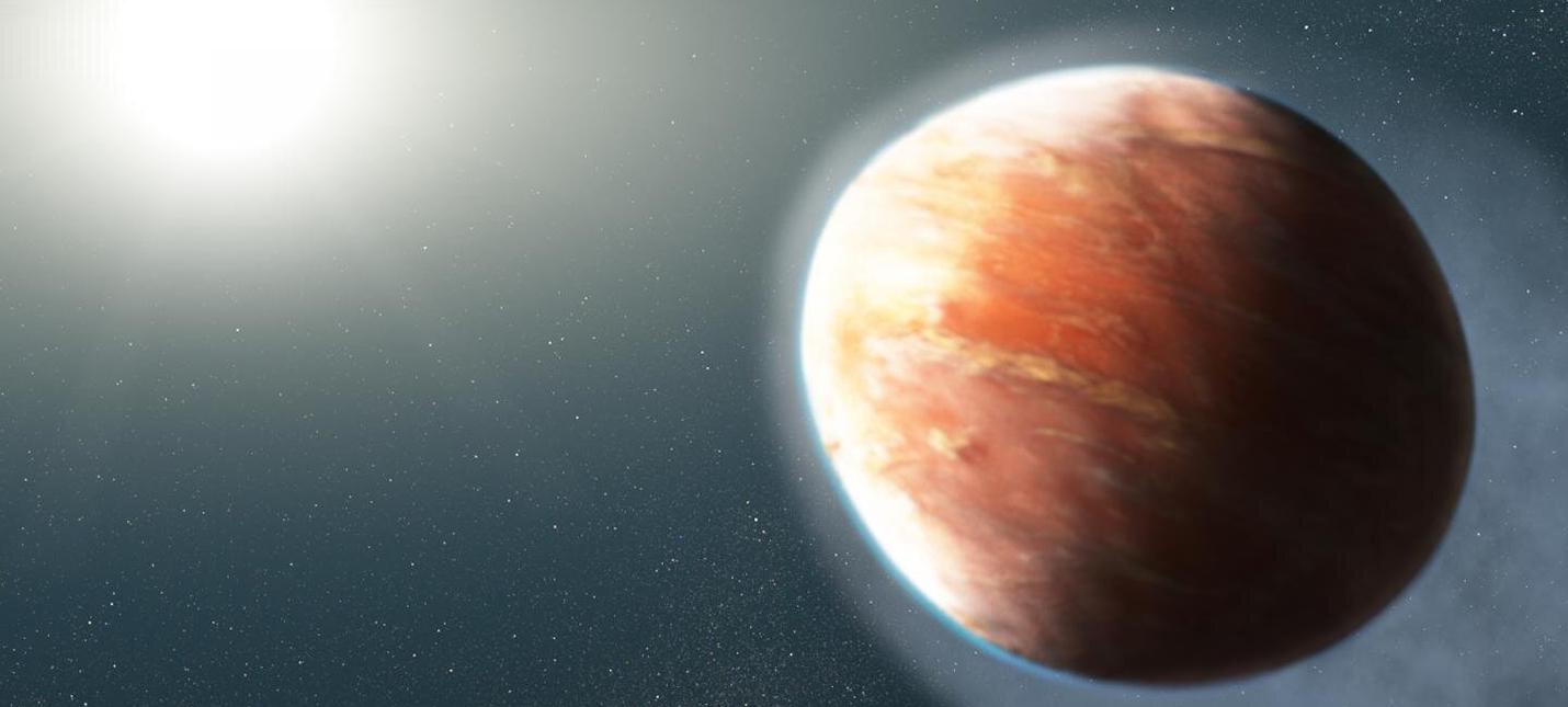 Ученые нашли адскую экзопланету яйцевидной формы