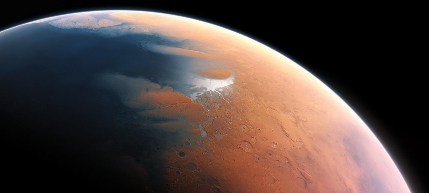 Исследование: Метеор вызвал мега-цунами на древнем Марсе