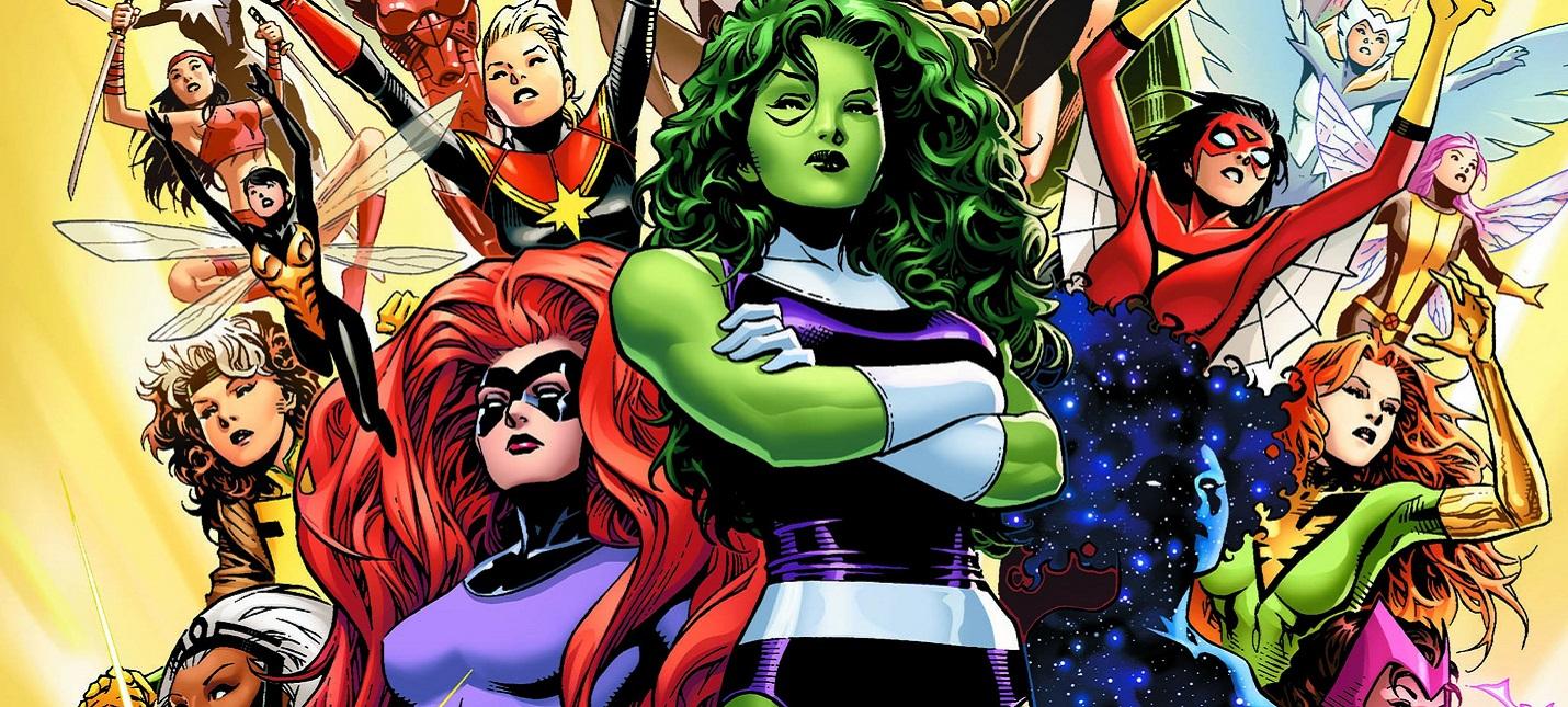 Marvel и ABC обсуждают идею сериала про женщину-супергероя