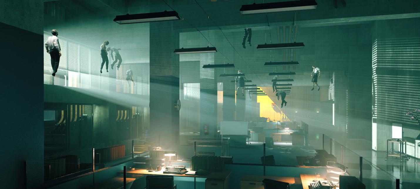Первый мини-трейлер Control из серии, объясняющей суть игры
