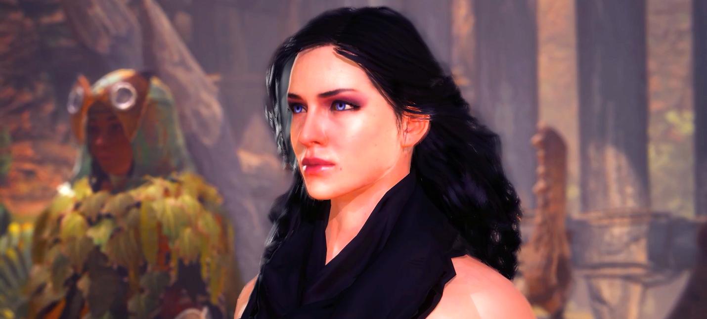 """Моддер добавил Трисс и Йеннифер из """"Ведьмака 3"""" в Monster Hunter: World"""
