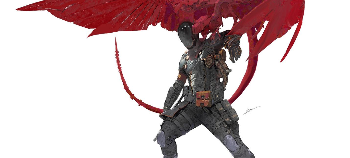 Художница Tencent разнообразила персонажей Apex Legends в своих концептах
